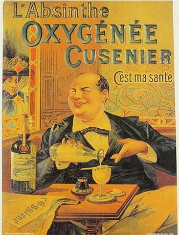 Absinthe oxygenee cusenier