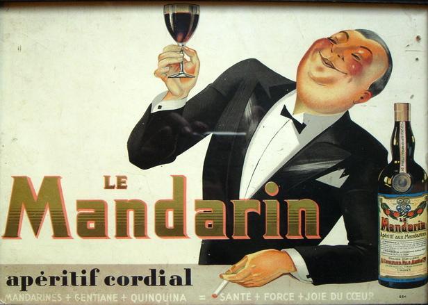 Affiche mandarin aperitif cordial