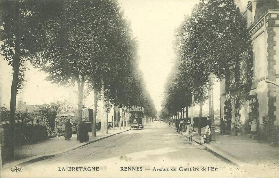 Avenue cimetiere