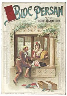 Bloc persan papier cigarettes 1