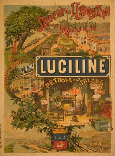 Luciline petrole salons