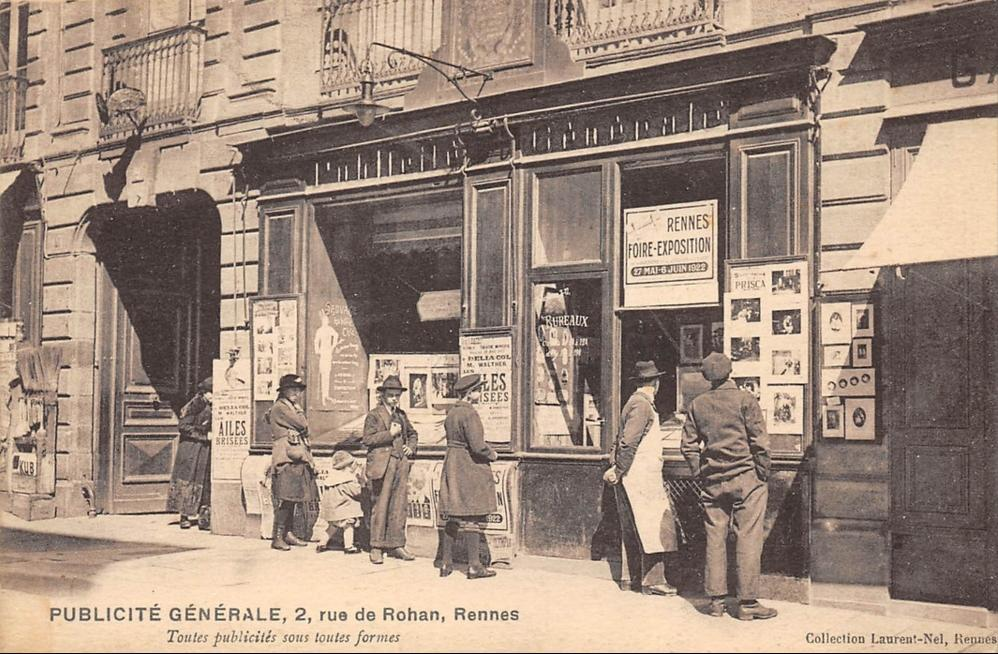 Pub generale rue de rohan